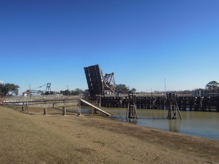 9th Ward. Bridge. New Orleans