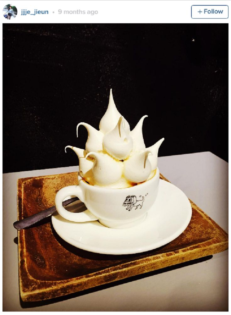 """""""Meringue coffee"""" is about to be your new favorite Instagram trend, but it's almost too beautiful to drink"""