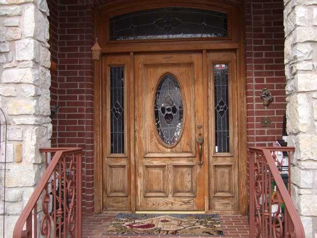 Exterior Doors Wood Vs Steel Fiberglass DoorsEntrance Doors