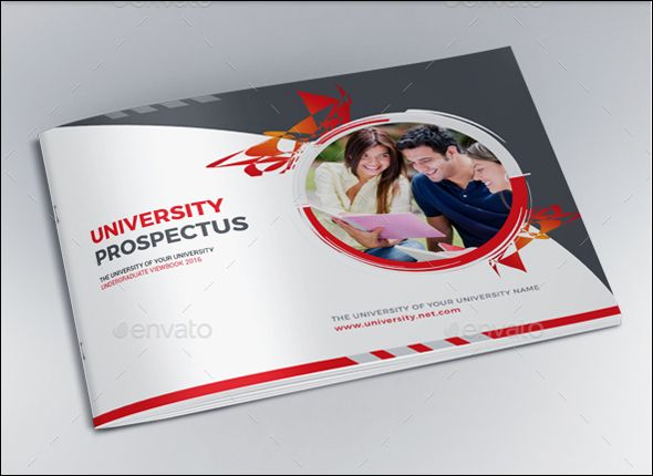 College University Prospectus Template