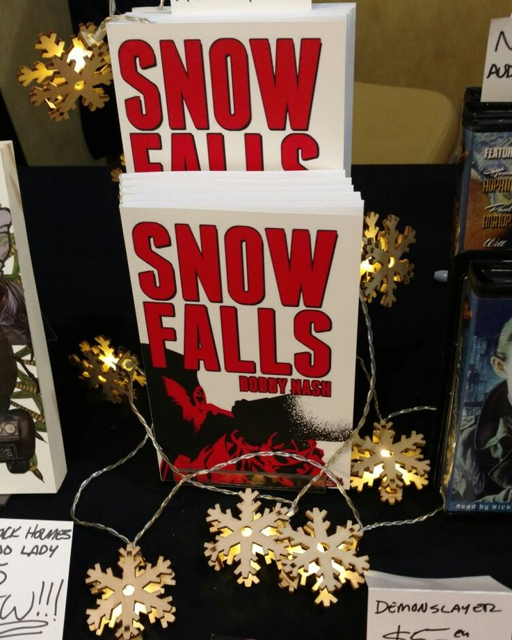 23 best atlanta comic convention 02 05 2107 images on pinterest snow falls paperback premiered today at the atlanta comic convention acc surrounded by snowflake fandeluxe Images