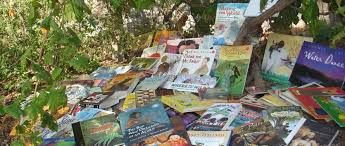 Image result for book pile