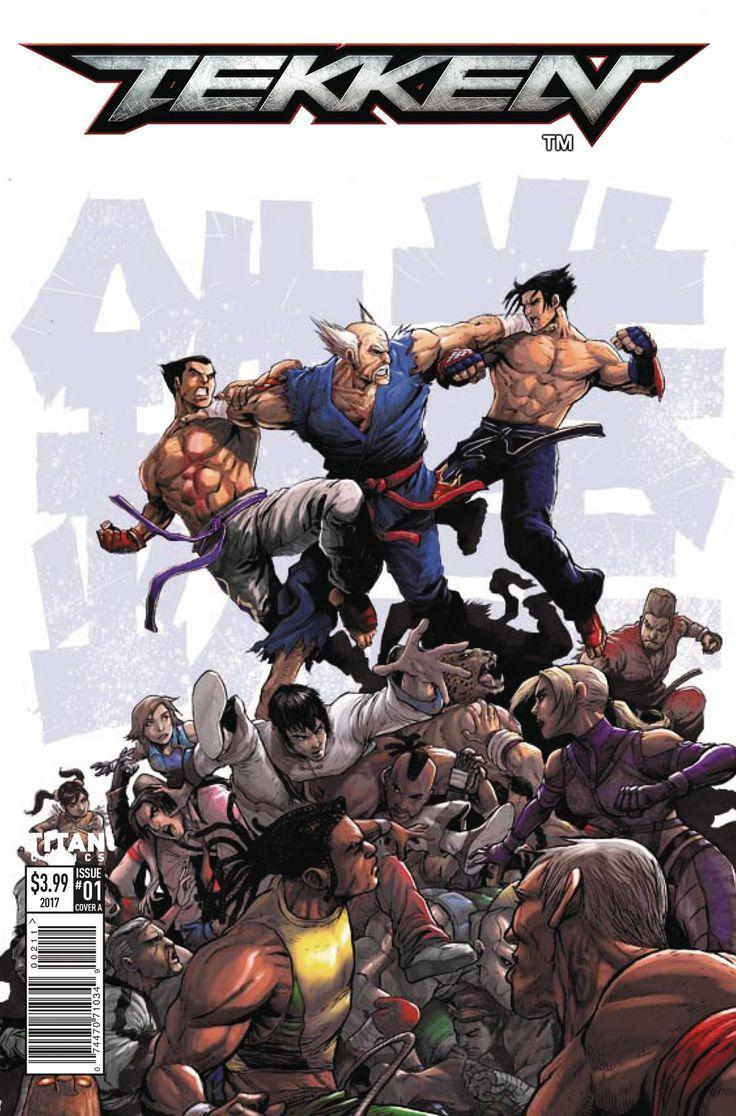 Tekken #1 (Cover B Tong) Cover