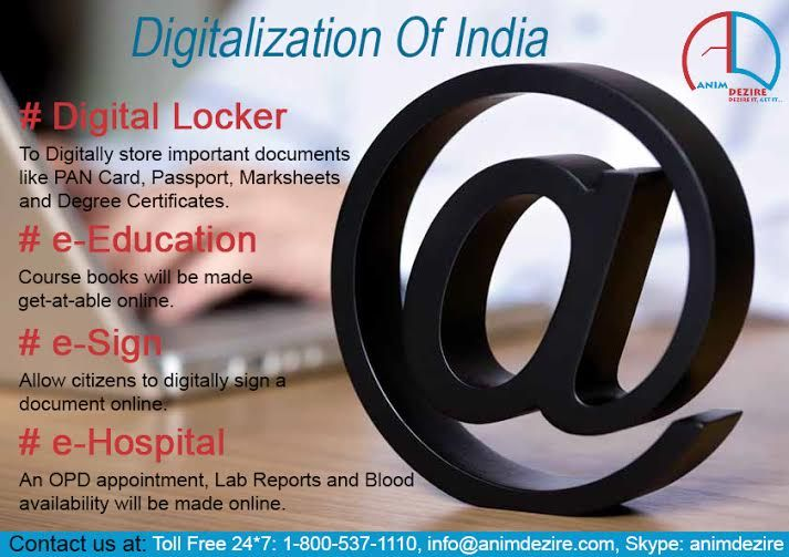 Digitalization of india