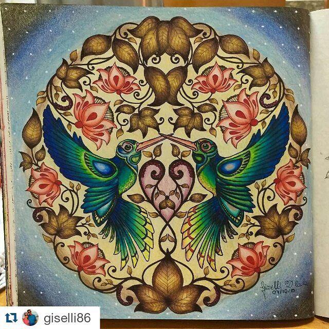 Olha Que Lindo By Giselli86 With Repostapp Desenhoscolorir Para Secret GardensColoring BooksAdult