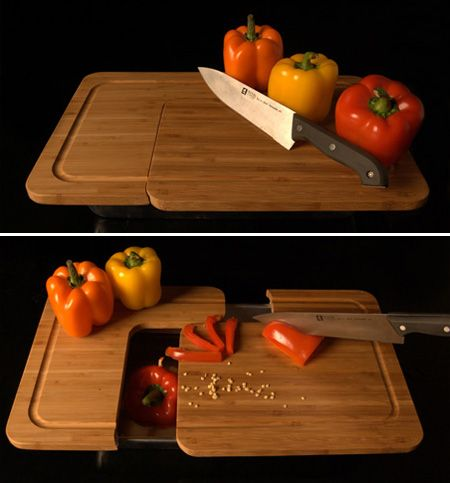 10 Cool Modern Cutting Boards; another great cutting board