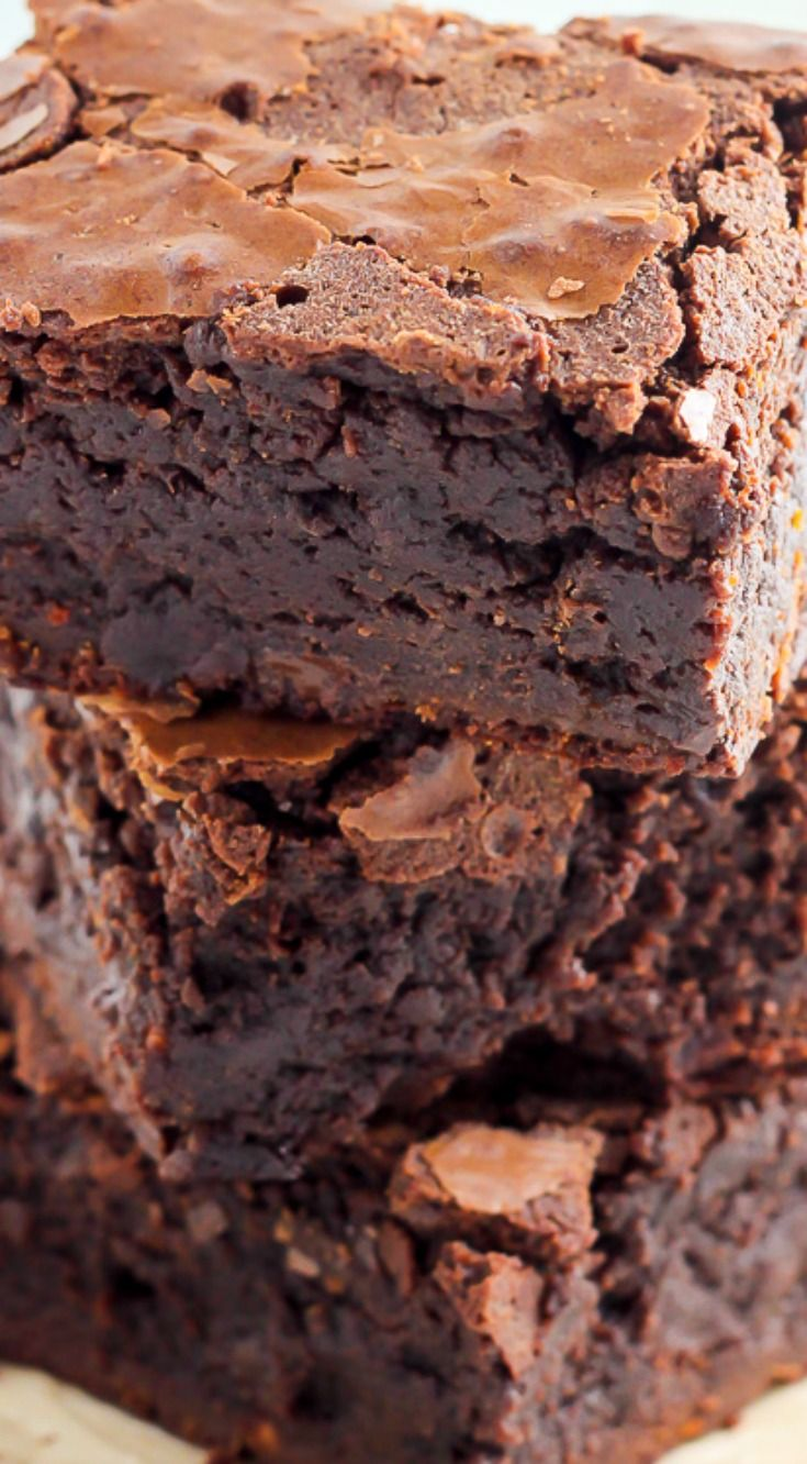 Baked Brownies ~ Thick, chewy, irresistible... The famous recipe for baked brownies from the baked bakery in Brooklyn!
