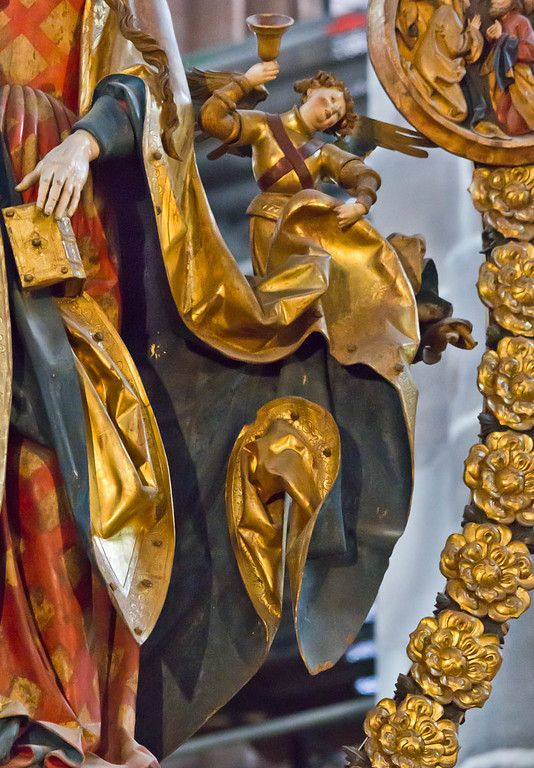 Lovely Der englische Gru Detail Veit Sto St Lorenzkirche N rnberg