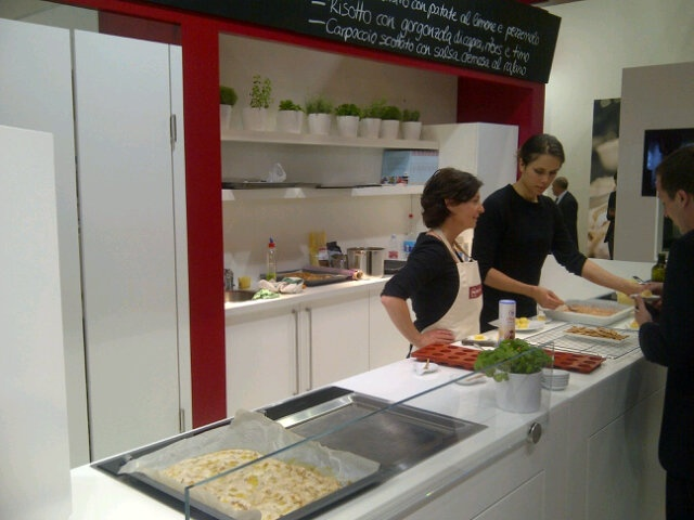 Neff live cooking at Eurocucina