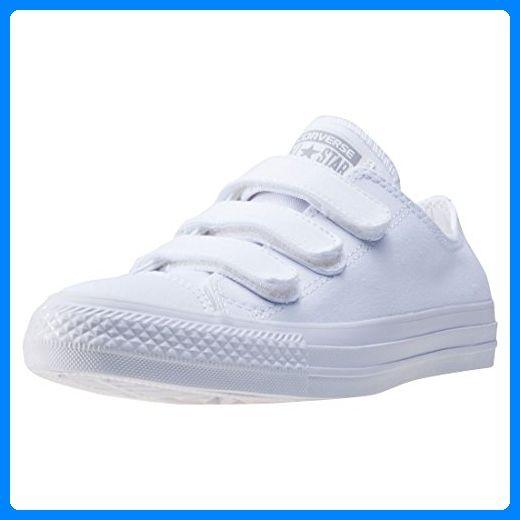 Converse Chuck Taylor All Star 3vel Ox, Damen Durchgängies Plateau Sandalen mit Keilabsatz , weiß - Weiß / Weiß - Größe: 36.5 EU - Sneakers für frauen (*Partner-Link)