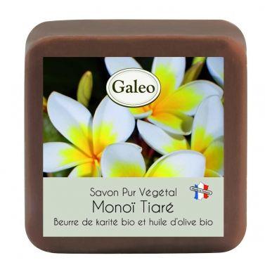 CouleurTropiques,savon Galeo parfum Monoi Tiaré, 100g de bonheur