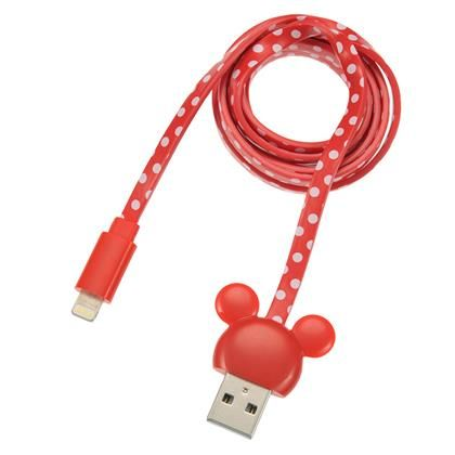Mickey Mouse Red USB Cable