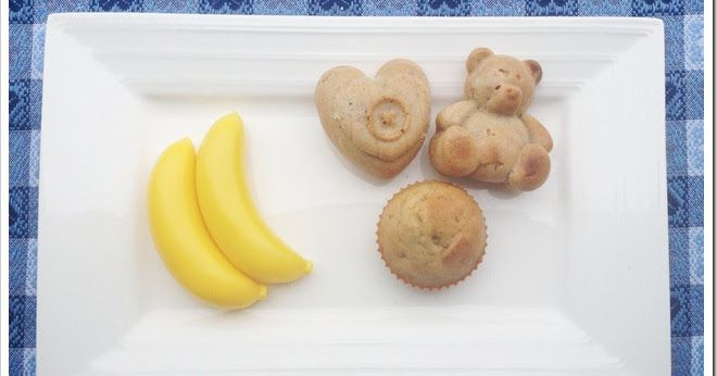 Mammarum: Muffin banane e miele (senza zucchero)