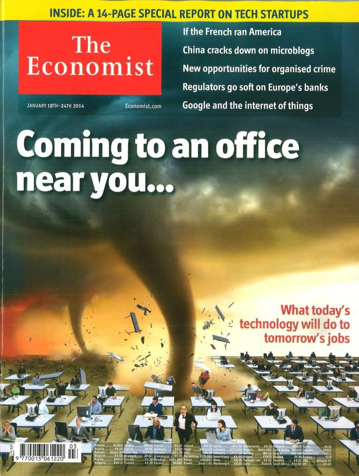 Read our monthly subscriptions to the Economist