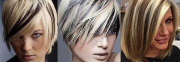 Kombiniere deine Haare mal mit dunklen oder hellen Akzenten!