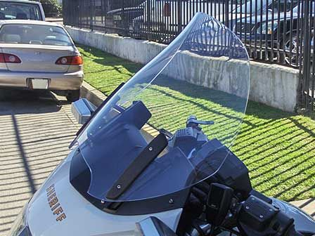 Cee Baileys - BMW R 1100 and 1150 RT Reverse Contour Motorcycle Windshield