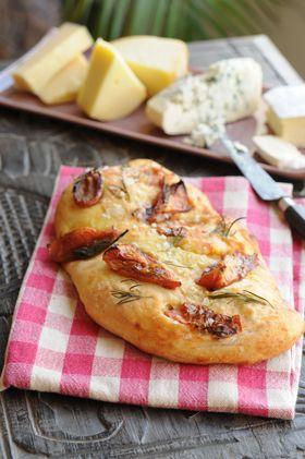Focaccia de tomates confitados *