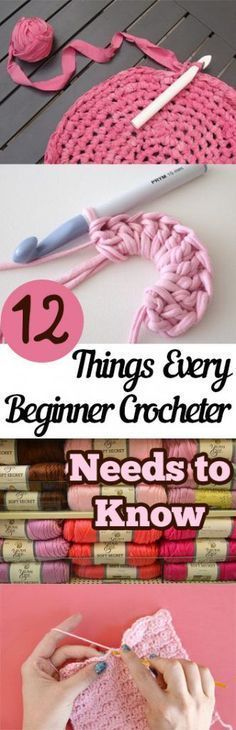 PIN 12 Things Every Beginner Crocheter Needs to Know