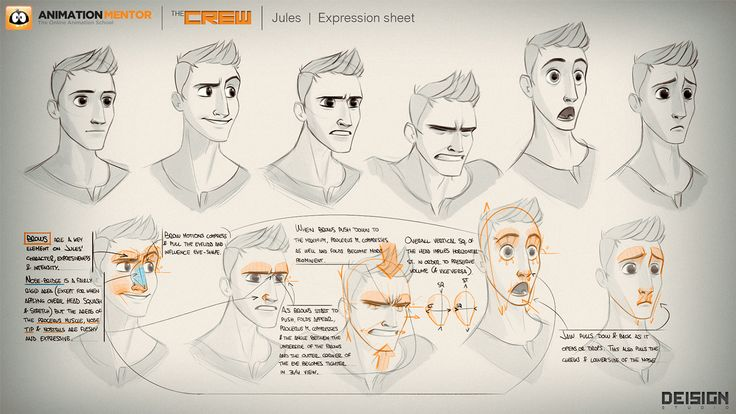 JULES by DEISIGN STUDIO | Client: Animation Mentor on Behance