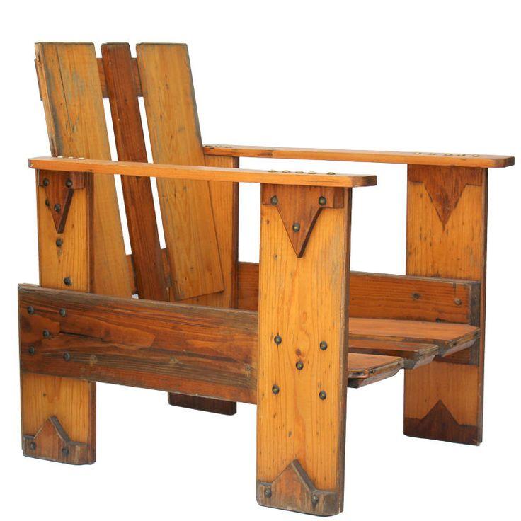 Dutch Crate Chair. Craftsman FurnitureFurniture ChairsModern  FurnitureOutdoor ...