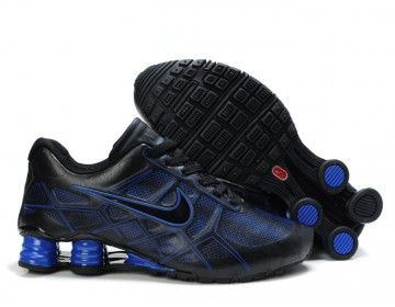 new arrival 300d3 8031a Nike Shox Turbo 12 Mens Running Shoes - BlackBlue - Wholesale ...