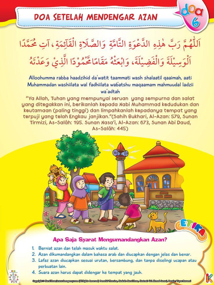 Doa Setelah Mendengar Azan