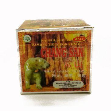 Obat Kuat Chang San Beruang Kapsul