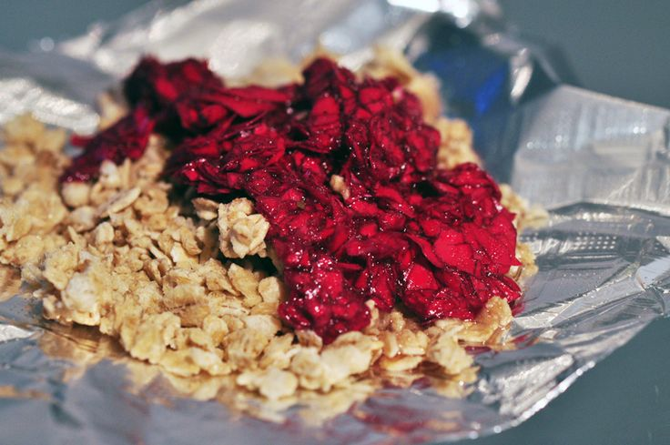 Rose granola...interesting twist!