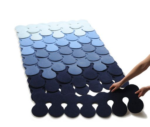 Rug from Catherine Werdel.