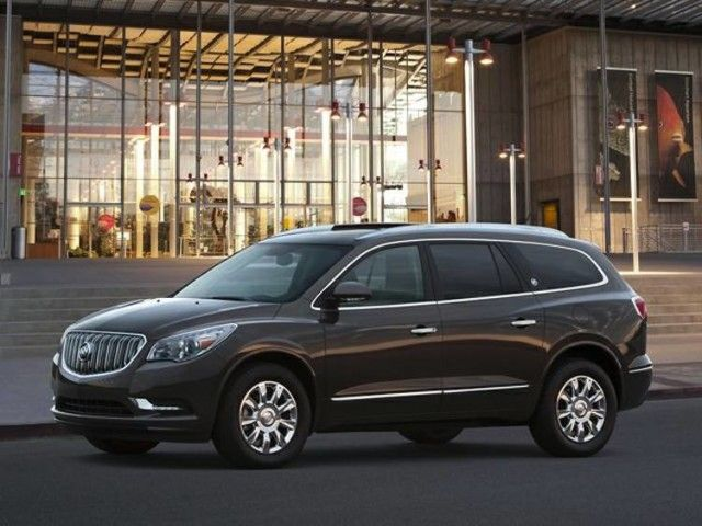 2017 Buick Enclave front The new 2017 Buick Enclave engine is going to be equipped with a V6, 3.6-liter power-train... is expected to hit dealerships for sale during the 2016, price