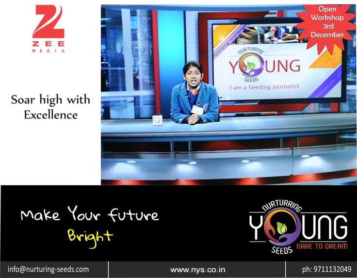 Be successful and soar high with excellence. Nys in collaboration with Zee Media brings to you another open #workshop which teachers the students about the importance of experience based learning through the medium of journalism and media. This helps students explore their skill sets to make career choices that are more passionate and meaningful for them than the…