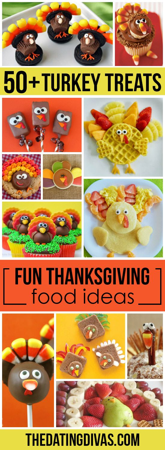 Seriously fun Thanksgiving food ideas!! The kids would love this…
