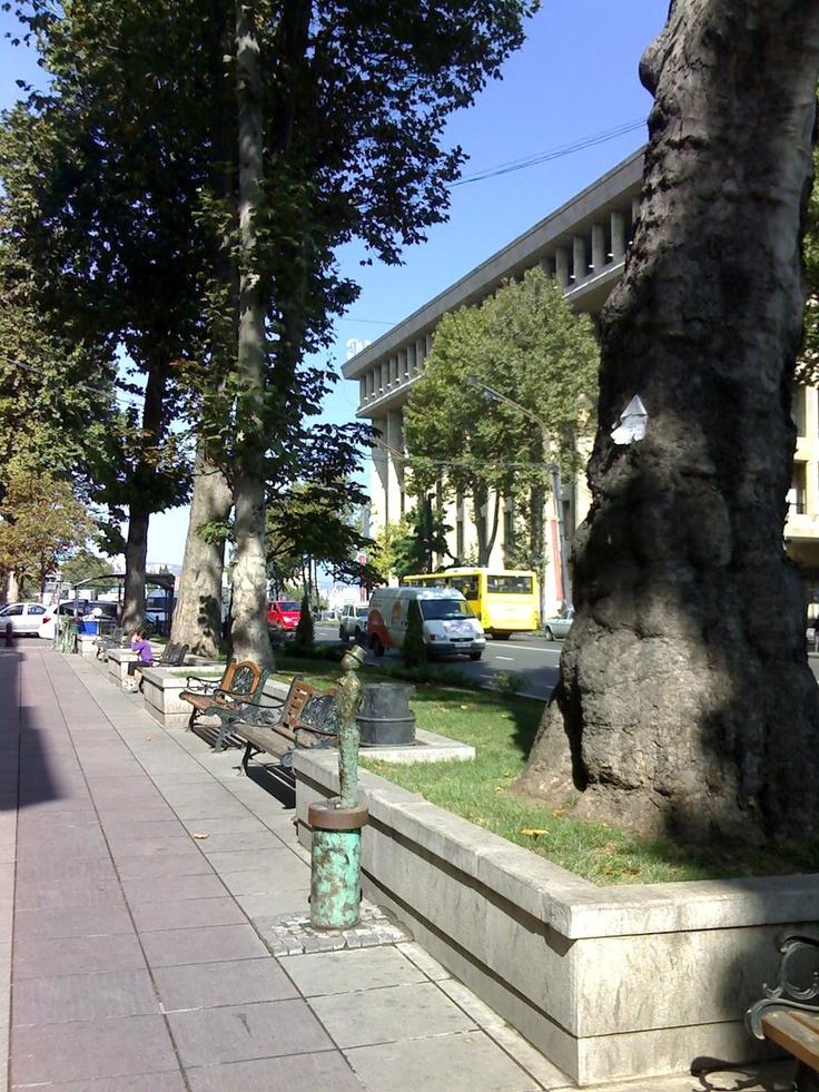 Rustaveli Avenue, Tbilisi