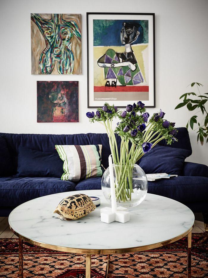 Шведская квартира как произведение современного искусства, 59 м²
