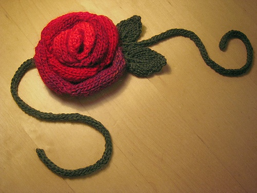 Roses Knitting Centre : Best ideas about knit leaves flowers on pinterest