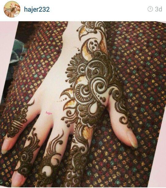 #mehendi #henna #hand #art #design