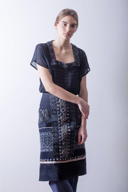 Фартук как украшение одежды
