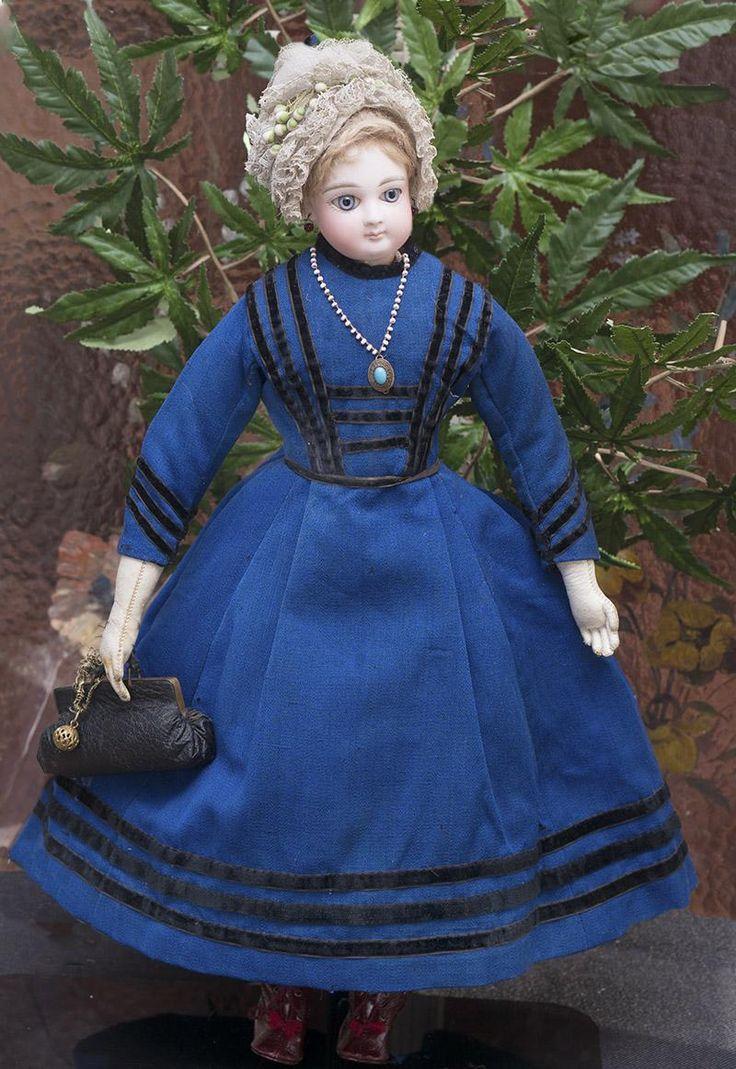 Antique fashion doll dresses