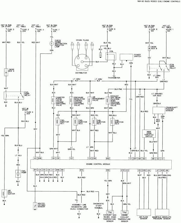 Wiring Diagram For Isuzu Trooper