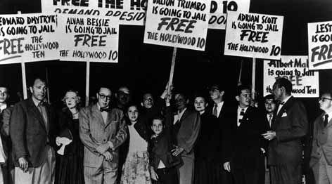 Caza de brujas:  McCarthy provocó una cruzada anticomunista, titulándose defensor de los auténticos valores americanos, esté fue apoyado por  el presidente Richard Nixon. El macarthismo fue utilizado para describir específicamente la intensa persecución anticomunista que existió en Norteamérica (1950-1956)  también conocido como Red Scare. Durante este periodo, las personas que eran sospechosas de diferentes grados de lealtad al comunismo se convirtieron en el blanco de investigaciones…