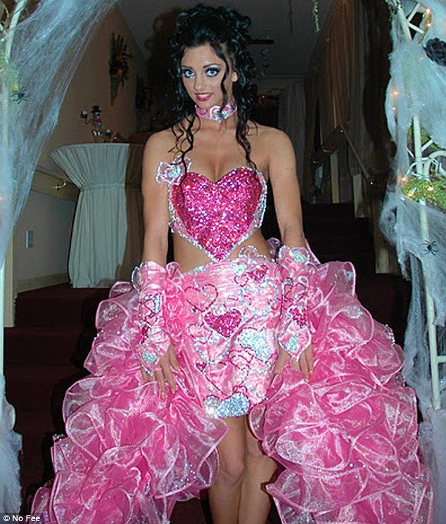 Princess: Sondra Celli, the wedding designer behind My Big Fat American Gypsy Wedding, admits that even she is shocked by its bridal requests. She designed the above frock, worn by 14-year-old Priscilla