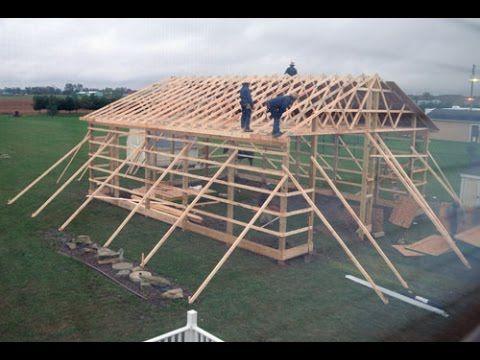 Amish Built Garage Tour - Part 1 - YouTube