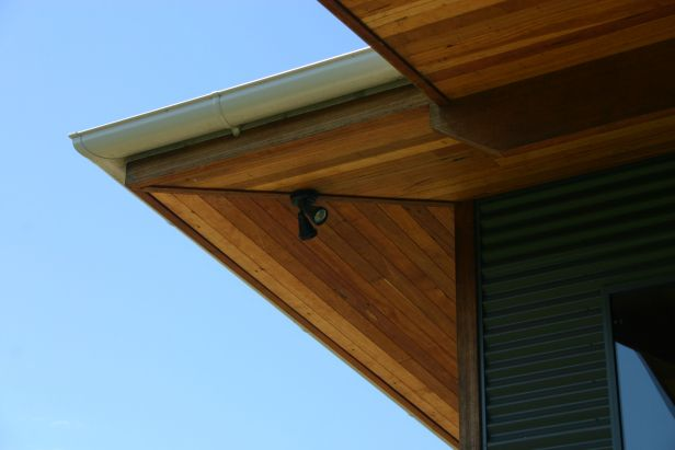 Timber Lined Eaves