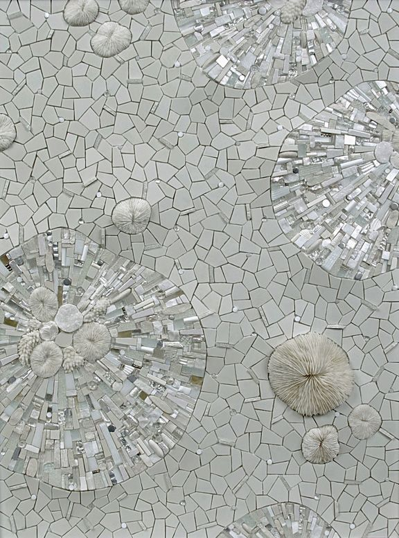Permafrost-Mosaic art by Sonia King