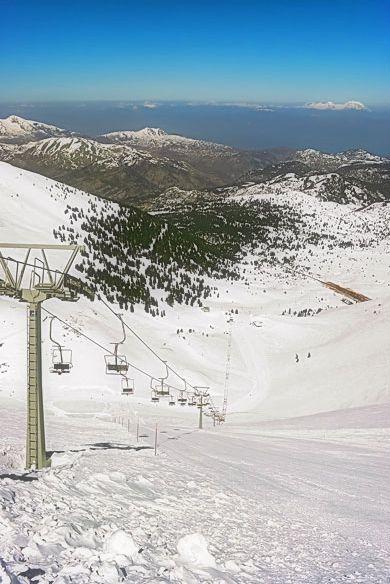 Καλάβρυτα - Χιονοδρομικό Κέντρο - Kalavryta Ski Center - Greece http://www.house2book.com