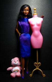 Las chorradikas de Laury: Vestido ochentero Barbie