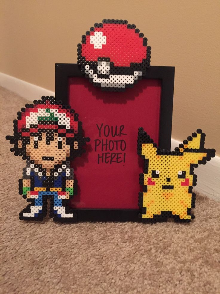 A personal favorite from my Etsy shop https://www.etsy.com/listing/261011365/pokemon-picture-frame