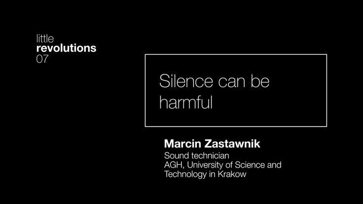 07. Silence can be harmful. Marcin Zastawnik on Vimeo // crew // creative director: Pola Borkiewicz // director of photography: Tomasz Gawroński // mapping / motion design: Tomasz Gawroński, Patryk Zimończyk // camera crew: Tomasz Gawroński, Patryk Zimończyk // music / sound: Marcin Cichy // graphic designers: Adrian Wach, Marcin Kołaczek // studio Luma