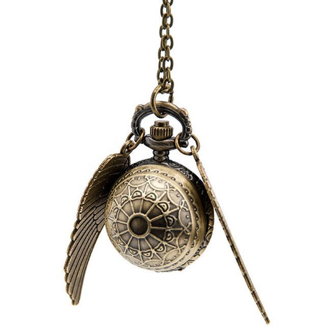 Harry Potter Quidditch- Snitch Clock Pendant