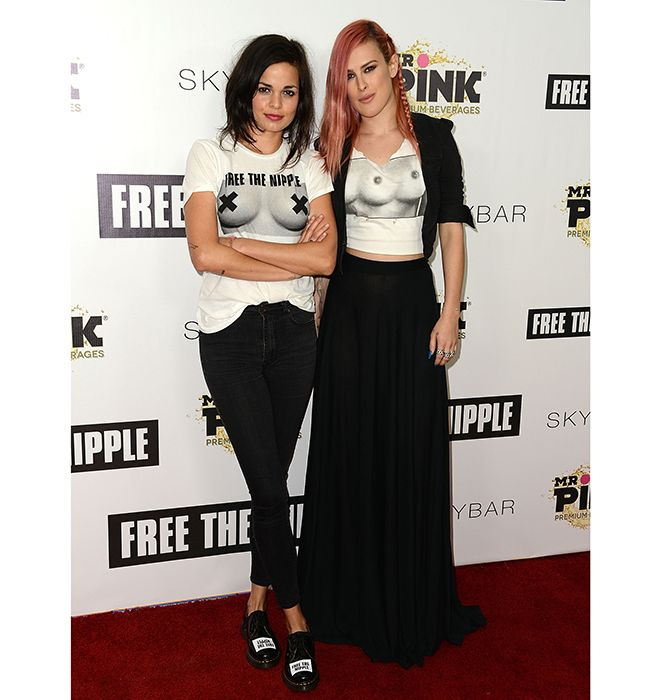 Meet the Women Behind #FreeTheNipple Movement - Elle